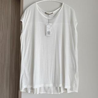 エディション(Edition)の新品未使用!白Tシャツ白チュニックトップス(シャツ/ブラウス(半袖/袖なし))