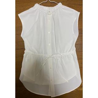 ジーユー(GU)のGU フレンチ袖ブラウス(シャツ/ブラウス(半袖/袖なし))