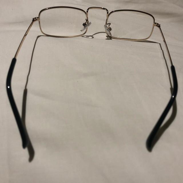 Ayame(アヤメ)のvintage スクエアフレーム 伊達眼鏡 メガネ メンズのファッション小物(サングラス/メガネ)の商品写真