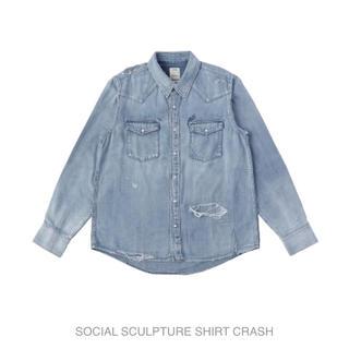 ヴィスヴィム(VISVIM)のvisvim SOCIAL SCULPTURE SHIRT CRASH (シャツ)