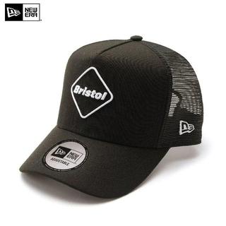 F.C.R.B. - FCRB ブラック × ホワイト NEWERA EMBLEM MESH CAP