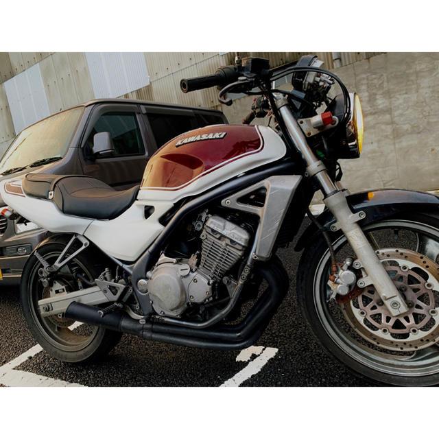 カワサキ(カワサキ)の低走行✨1型 バリオス 火の玉カラー 自動車/バイクのバイク(車体)の商品写真