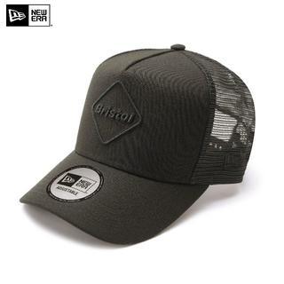 F.C.R.B. - FCRB ブラック × ブラック NEWERA EMBLEM MESH CAP