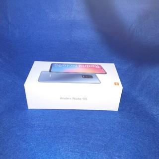 【新品】xiaomi redmi note 9s/64GB ROM/ホワイト(スマートフォン本体)