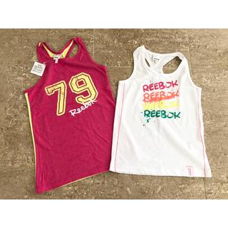 リーボック(Reebok)のリーボック 新品 タンクトップ2枚組(Tシャツ/カットソー)