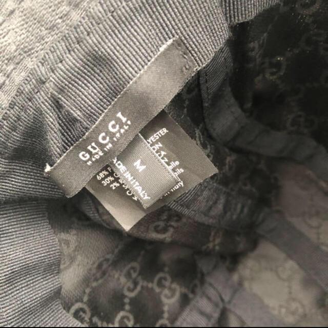 Gucci(グッチ)のGUCCI グッチ キャップ バケットハット メンズの帽子(ハット)の商品写真