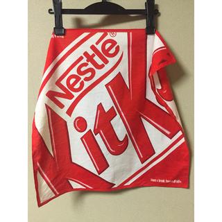 ネスレ(Nestle)のキットカット KitKat ハンカチ バンダナ(ハンカチ)