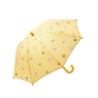 ファミリア(familiar)の新品未使用!familiarチェック キッズ傘 売切れたら削除します!(傘)