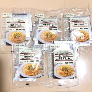 ムジルシリョウヒン(MUJI (無印良品))の無印 エビクリーム パスタソース 5個(10人分)(レトルト食品)