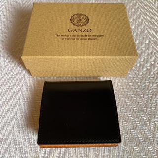 GANZO - ガンゾ GANZO CORDOVAN (コードバン) BOX小銭入れ