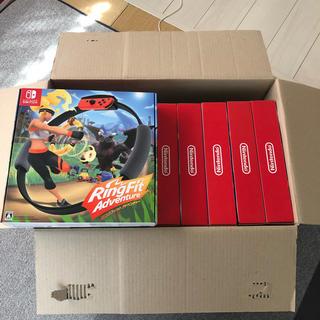 ニンテンドースイッチ(Nintendo Switch)の新品リングフィット アドベンチャーパッケージ版16台(家庭用ゲームソフト)