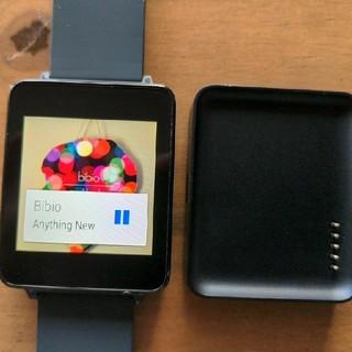 エルジーエレクトロニクス(LG Electronics)のLG G Watch スマートウォッチ(腕時計(デジタル))