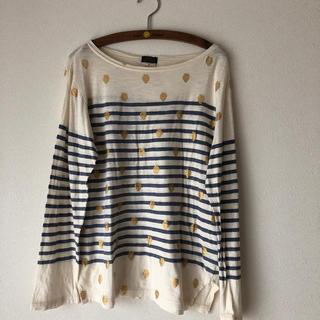 ゴートゥーハリウッド(GO TO HOLLYWOOD)のえみんこ様専用ゴートゥーハリウッドボーダーイチゴTシャツ02(Tシャツ/カットソー)