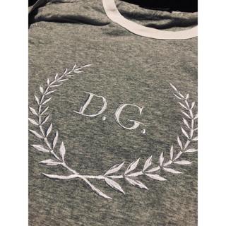 ドルチェアンドガッバーナ(DOLCE&GABBANA)の【美品】ドルガバ 刺繍 ロングスリーブ 48(Tシャツ/カットソー(七分/長袖))