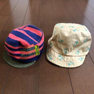 アンパサンド(ampersand)の【美品】アンパサンド SamansaMos2Lagom♥ベビー帽子 キャップ(帽子)
