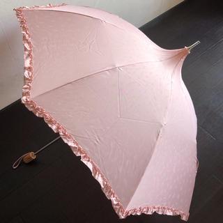 9月中削除 CRYSTAL JEMMY ピンク 傘 日傘
