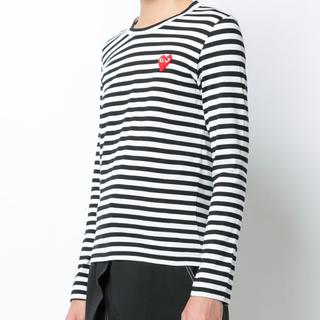 コムデギャルソン(COMME des GARCONS)のCOMME des GARCONS レディース ボーダーTシャツ(Tシャツ(長袖/七分))