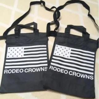 ロデオクラウンズワイドボウル(RODEO CROWNS WIDE BOWL)のロデオクラウンズワイドボウル ショッパー ショップ袋 2枚セット(ショップ袋)