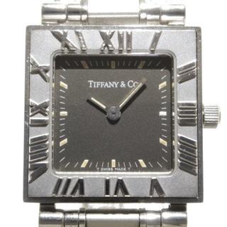 ティファニー(Tiffany & Co.)のティファニー 腕時計 アトラススクエア 黒(腕時計)