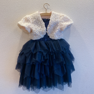 エイチアンドエム(H&M)のH&M  ドレス・ボレロセット  結婚式(ドレス/フォーマル)