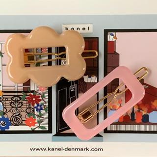 ロンハーマン(Ron Herman)の数量限定セール※kanel 新作フラワー&スクエアヘアピンセット(ヘアピン)