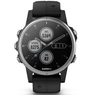 ガーミン(GARMIN)の【送料無料】ガーミンFenix 5S PLUSマルチスポーツ対応 GPSウォッチ(腕時計(デジタル))