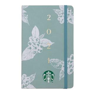 スターバックスコーヒー(Starbucks Coffee)のスターバックス :手帳 2021年 グリーン スタバ 台湾 海外 スケジュール帳(カレンダー/スケジュール)
