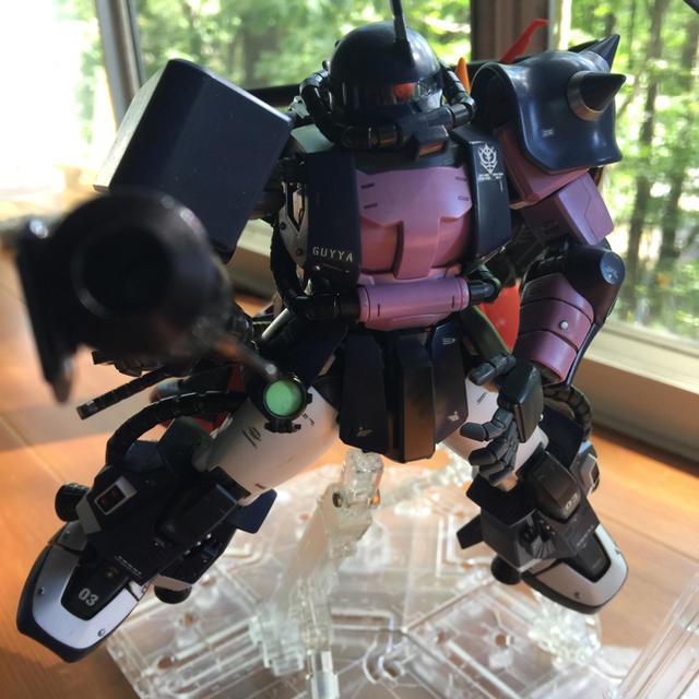 BANDAI(バンダイ)のガンプラ完成品  エンタメ/ホビーのおもちゃ/ぬいぐるみ(模型/プラモデル)の商品写真