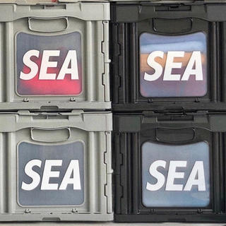 シー(SEA)のWIND AND SEA ☆ SEA CONTAINER BOX ☆ グレー(その他)