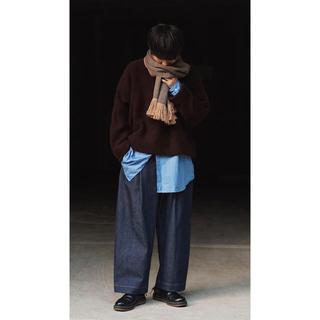コモリ(COMOLI)のyoke ニット マロン(ニット/セーター)