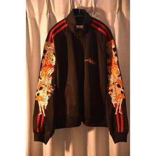 バレンシアガ(Balenciaga)のdoublet カオス刺繍 トラックジャケット(ジャージ)