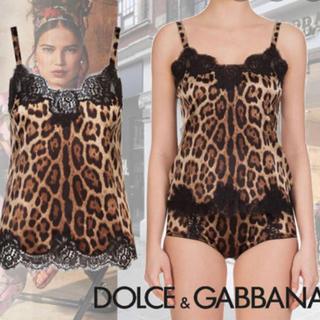 ドルチェアンドガッバーナ(DOLCE&GABBANA)のDolce & Gabbana スリップ・インナー・キャミ(キャミソール)