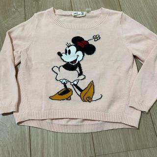 ディズニー(Disney)のユニクロ ミニーちゃんセーター(ニット)