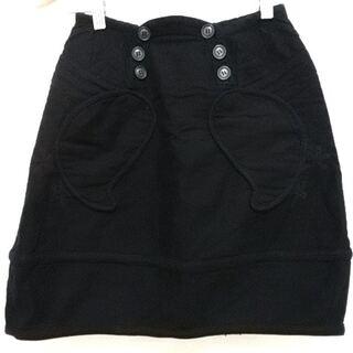 ツモリチサト(TSUMORI CHISATO)のツモリチサト スカート サイズ1 S 黒(その他)