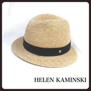 ヘレンカミンスキー(HELEN KAMINSKI)のHELEN KAMINSKI ヘレンカミンスキー 麦わら帽子 中折れハット (麦わら帽子/ストローハット)