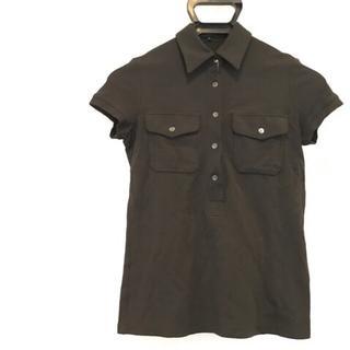 セオリー(theory)のセオリー 半袖ポロシャツ サイズP M 黒(ポロシャツ)
