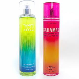 バスアンドボディーワークス(Bath & Body Works)のBBW Tahiti Island Dream ボディーミスト  (香水(女性用))