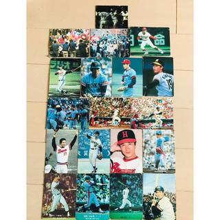 カルビー(カルビー)の昭和レトロ プロ野球カード(その他)