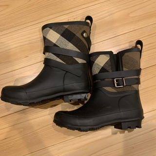 バーバリー(BURBERRY)のバーバリーレインブーツ長靴★キッズ(長靴/レインシューズ)