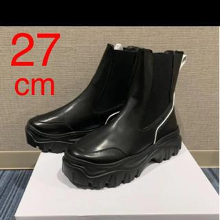 ジョンローレンスサリバン(JOHN LAWRENCE SULLIVAN)の27 cm  PIERRE DARRE  サイドゴアブーツ(ブーツ)