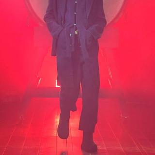 ジョンローレンスサリバン(JOHN LAWRENCE SULLIVAN)のkozaburo 2020ss black Knit pants(ワークパンツ/カーゴパンツ)