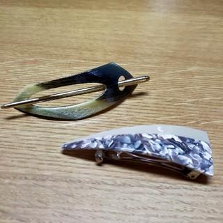 アネモネ(Ane Mone)の2点セット☆Anemoneヘアアクセサリー(バレッタ/ヘアクリップ)