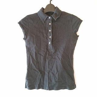 セオリー(theory)のセオリー 半袖ポロシャツ サイズ2 S 黒(ポロシャツ)