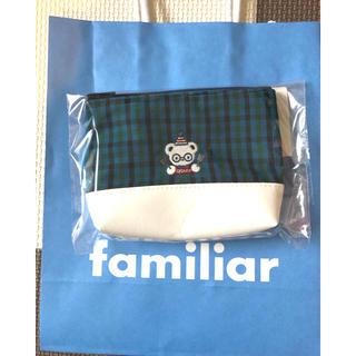 familiar - 新品!大阪限定!ファミリア  ポーチ familiar