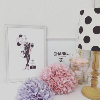 フランフラン(Francfranc)のアートポスター A4サイズ Dior  壁掛け可能(アート/写真)