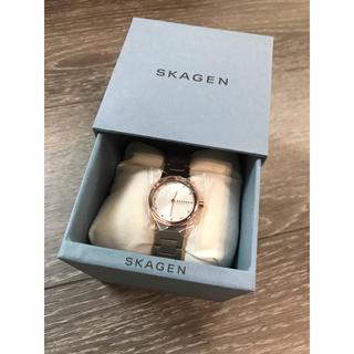 スカーゲン(SKAGEN)のSKAGEN スカーゲン 腕時計 ホワイト(腕時計)