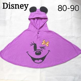 ディズニー(Disney)のディズニー ミニーマウス ポンチョ ハロウィン(カーディガン/ボレロ)