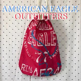アメリカンイーグル(American Eagle)のAEアメリカンイーグル US限定 ナップサック バックパック リュック(リュック/バックパック)