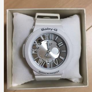 ベビージー(Baby-G)のbabyG ベビージー G-SHOCK 腕時計 白 シルバー CASIO(腕時計)