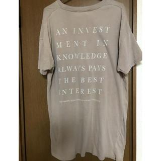 トゥデイフル(TODAYFUL)のtodayful  tシャツ(Tシャツ/カットソー(半袖/袖なし))